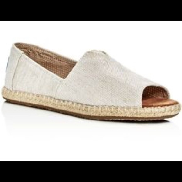 Toms Shoes | Toms Peep Toe Espadrilles